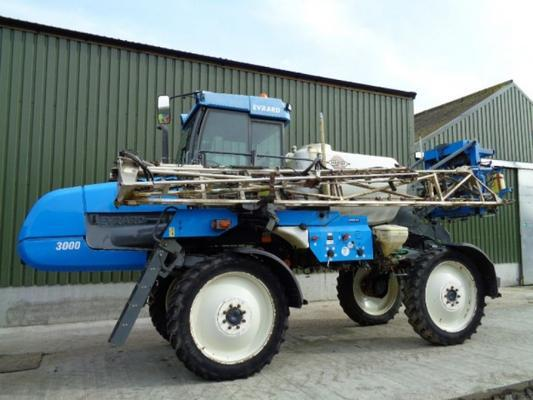 Other Used Hardi Alpha 3000 24M Self-Propelled Sprayer
