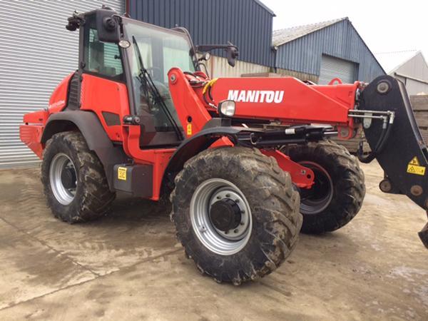 Manitou MLA 630 Articulated Telescopic Forklift