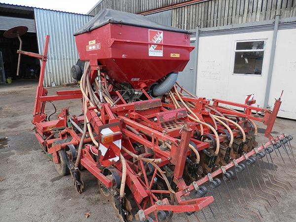 Other KV NGS 301 HD Power Harrow C/W Farm Force Air Drill