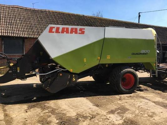Claas 2013  QUADRANT 2100 BIG SQUARE BALER