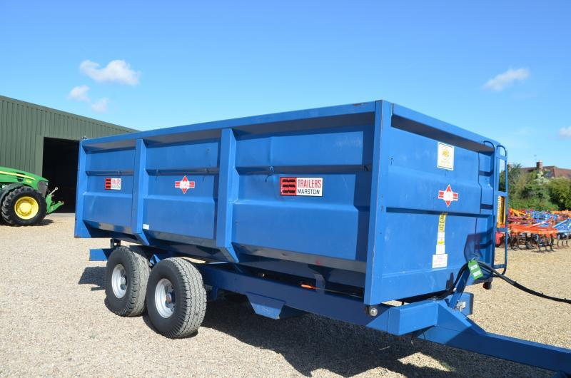 A S MARSTON 10T ACE GRAIN TRAILER 11011086