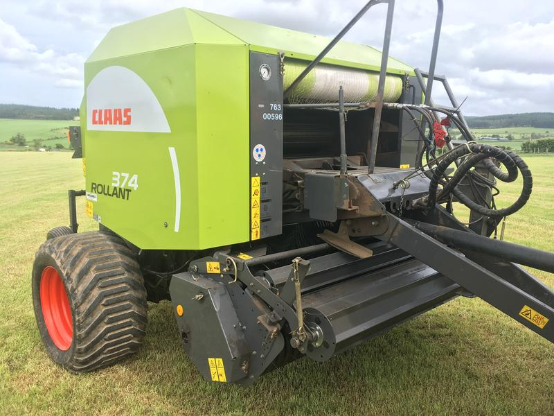 Claas Rollant 374 Roto-feed
