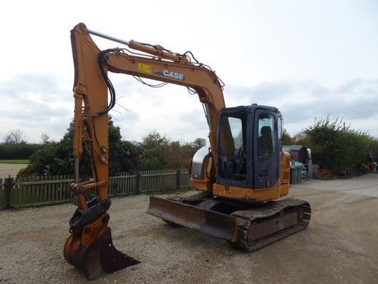 Case  CX75SR TRACKED DIGGER