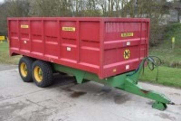 MARSHALL 12.5t Grain Trailer