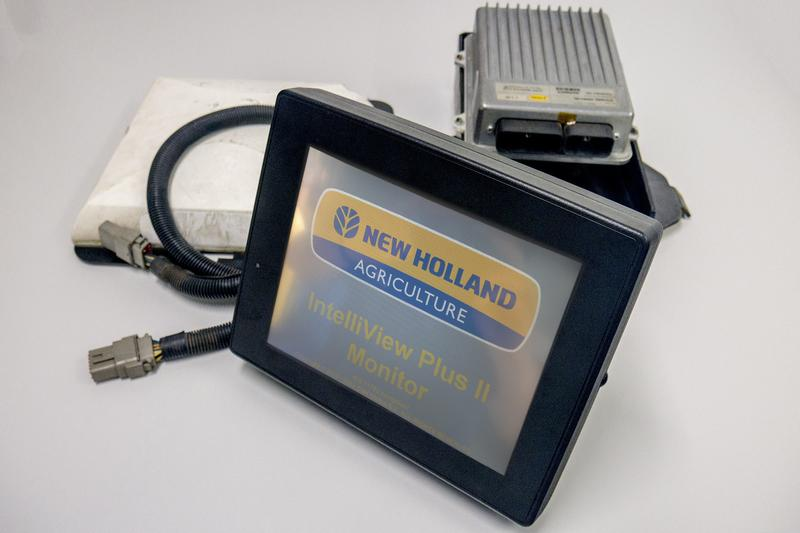 New Holland automatische Lenkung Set, Monitor + GPS Empfaenger