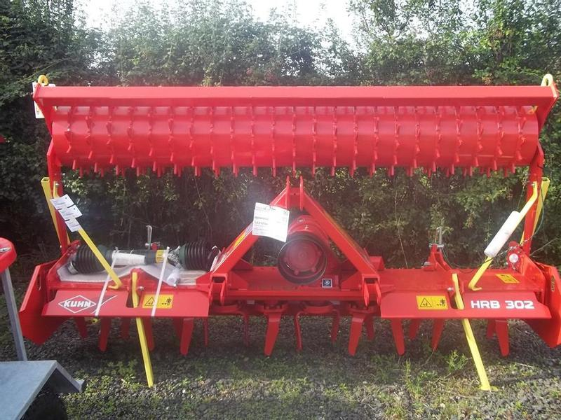 Other New Kuhn HRB302D Power Harrow