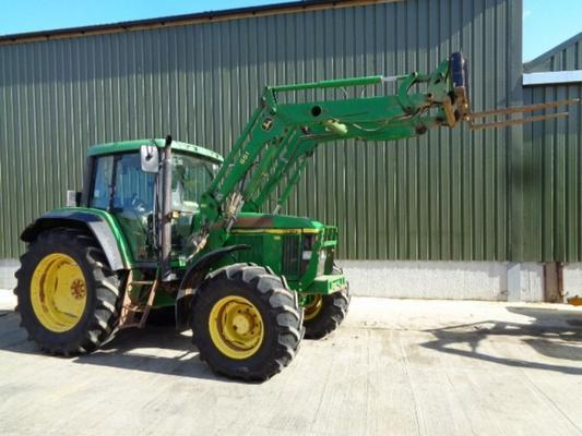 John Deere Used  6610 C/w 661 Loader