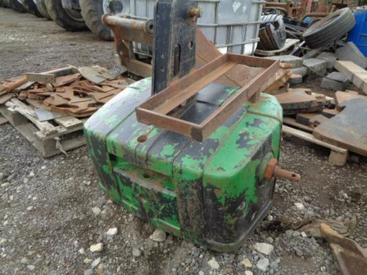 Used John Deere 900KG Weight Block