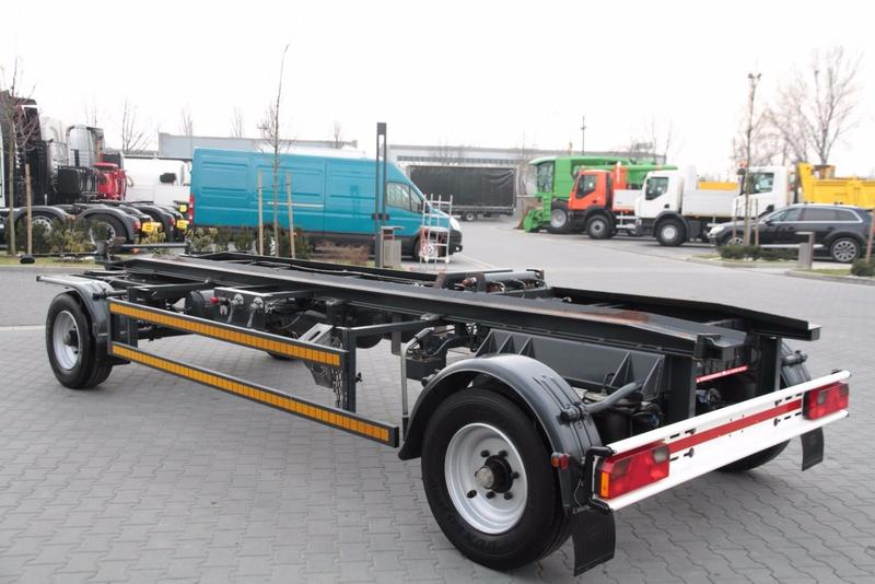Other ROLL OFF CONTAINER CHASSIS TRAILER ROBERTZ AWL
