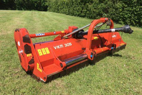 Kuhn VKM 305 REAR MOUNTED FLAIL MOWER Hydraulic hedge