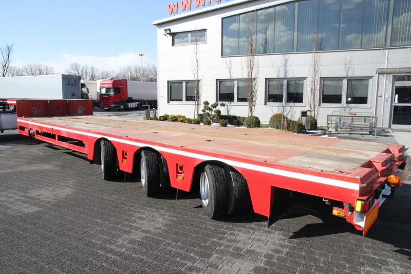 Broshuis LOW LOADER 33H5-S / A 3 AXLES STEERABLE