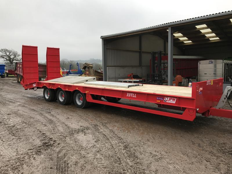 JPM 33 Tonne Tri Axle Low Loader