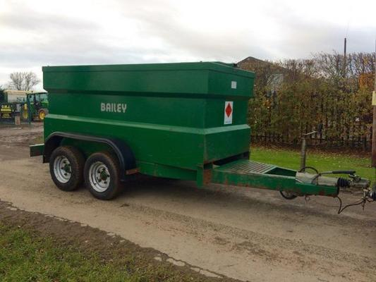 Other USED BAILEY FUEL 2000 LTR DIESEL BOWSER