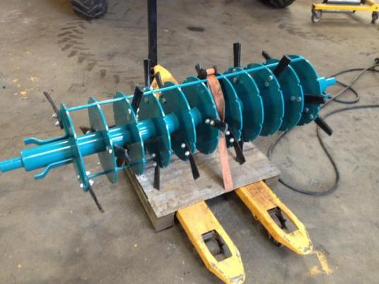 Other Spare rotor for muck spreader ROLLAND V2 d'occasion