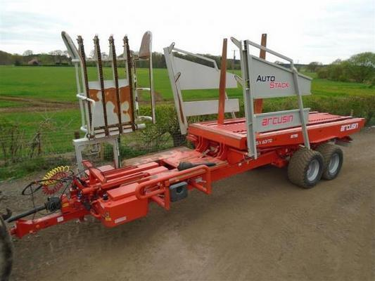 Arcusin  FSX 63 - 72 Bale Collector For Sale