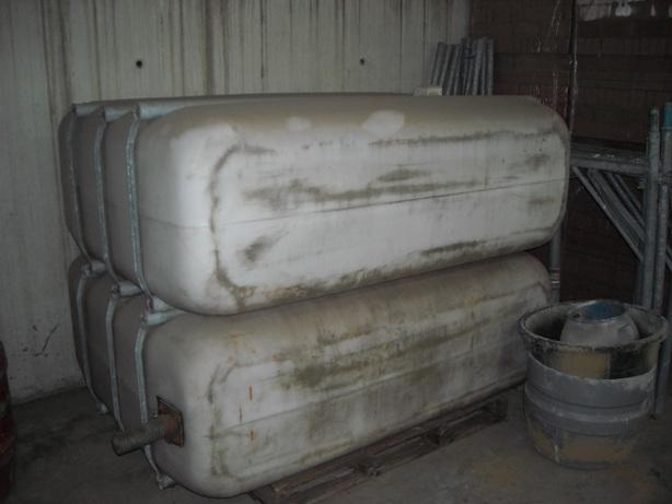John Deere watertank