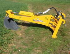 Cochet Power Arm Digger for telehandlers c/w brackets and 40cm construction bucket, New.