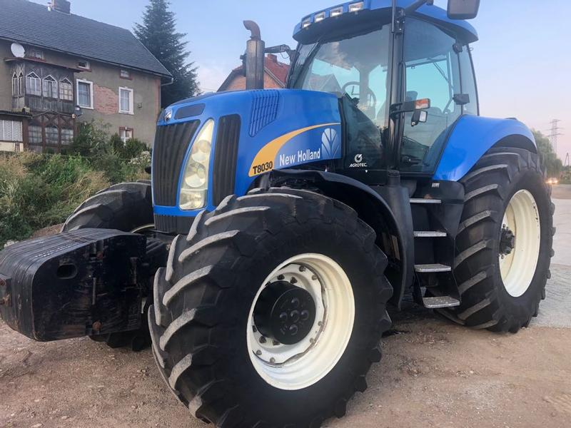 used new holland t8030 tractors for sale tractorpool co uk rh tractorpool co uk