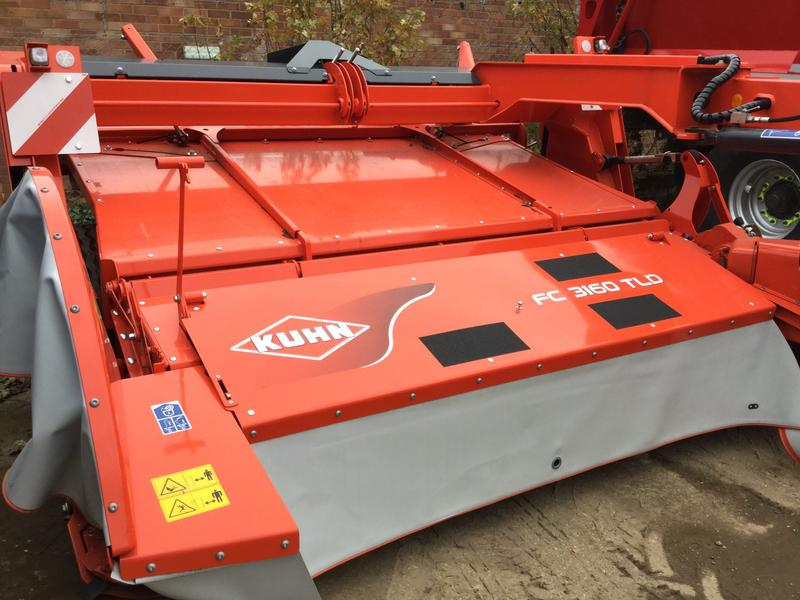 Kuhn FC 3160 TLD TRAILED MOWER CONDITIONER