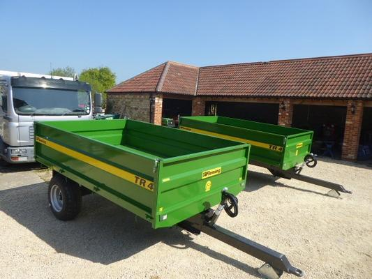 NEW FLEMING 4 TON TRAILER