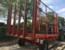 TIMIK 120 bale trailed transporter