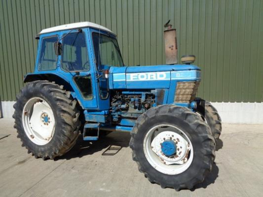 Used Ford 8210 Tractor