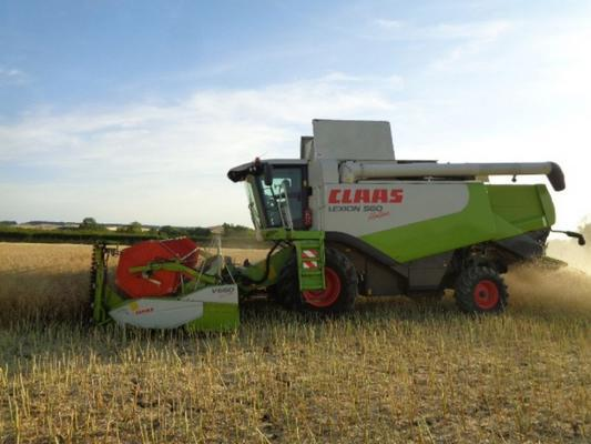 Claas Used  lexion 560 montana combine