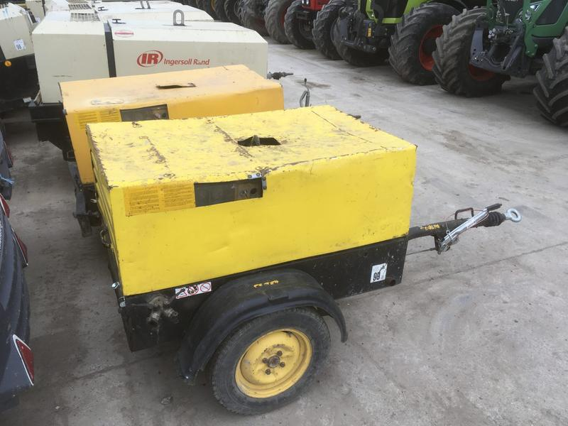 Atlas Copco XAS 35 TOOL COMPRESSORS (CHOICE OF 2)