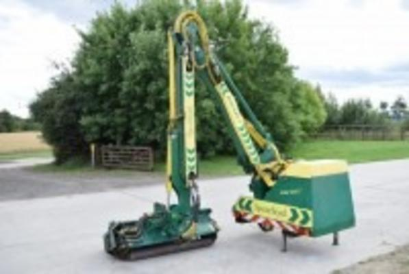 Spearhead  Excel 645t Hedgecutter C/w Hydraulic Roller