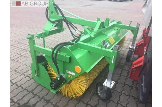 POM Augustów Kehrmaschine / Tractor sweeper/Balayeuses tracteur T801,1,6m