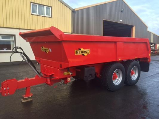 NEW Herbst 16T Dump Loader