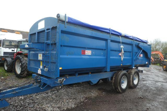 AS MARSTON 14 TON GRAIN TRAILER