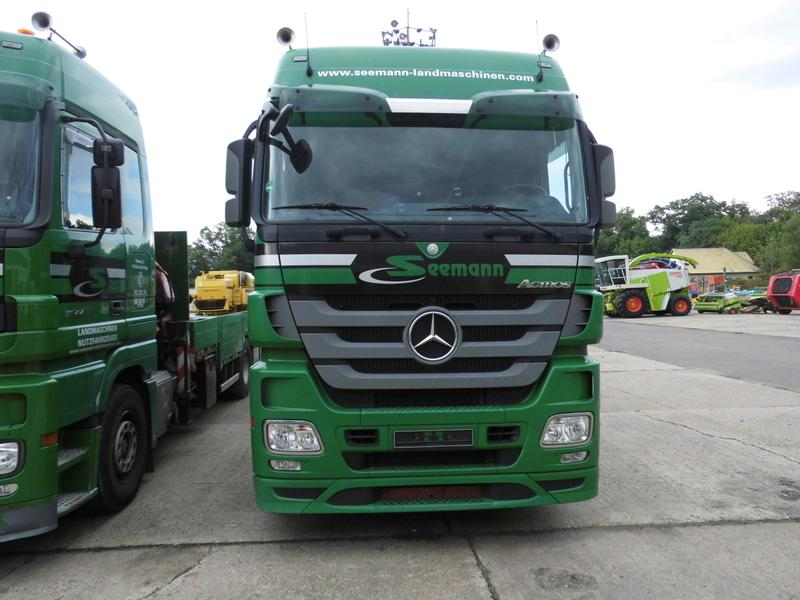 Mercedes-Benz ACTROS 1844+RECKER