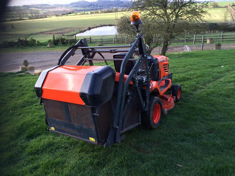 Kubota G23 Mark 2 high dump