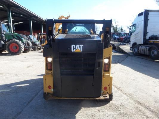 Caterpillar CAT 257D HIGH FLOW TWO SPEED SKID STEER