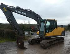 Volvo ec140cl tracked digger