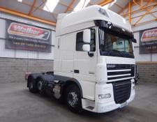 Daf XF105 460 SUPERSPACE EURO 5, 6 X 2 TRACTOR UNIT - 2013 - EY13 UZB
