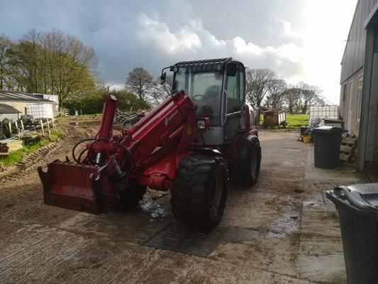 Wiedenmann  CX4070 ARTICULATED LOADER
