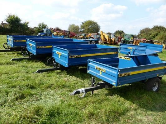 NEW FLEMING TIPPING TRAILERS