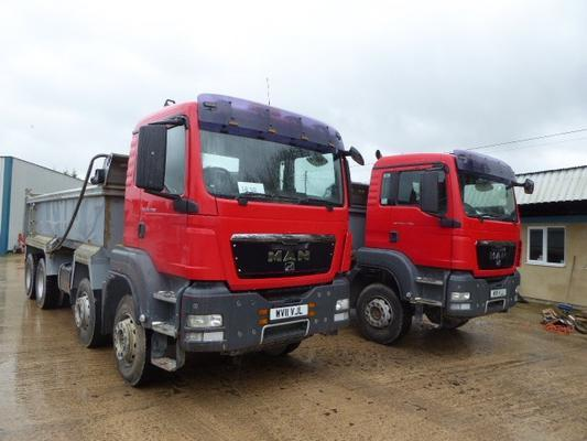 MAN  TG535.400 TIPPER LORRY