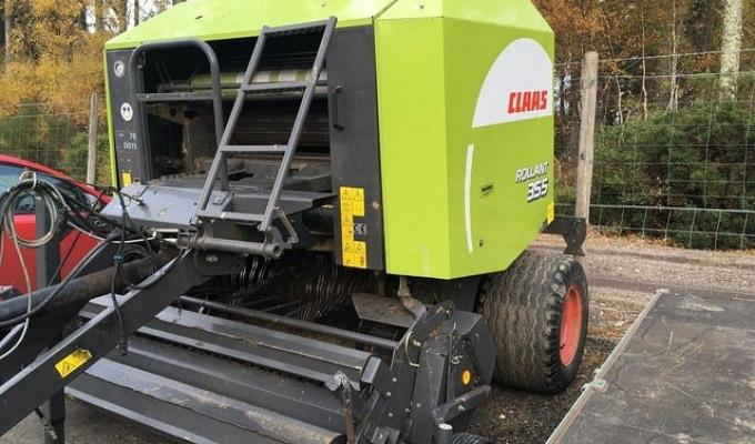 Claas 355 Chopper Baler