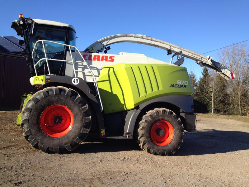 Claas Jaguar 970 MAN V 8