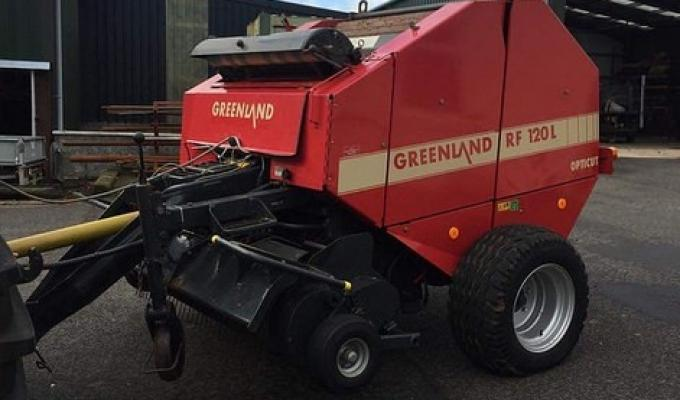 GREENLAND RF120L CHOPPER (VICON) BALER