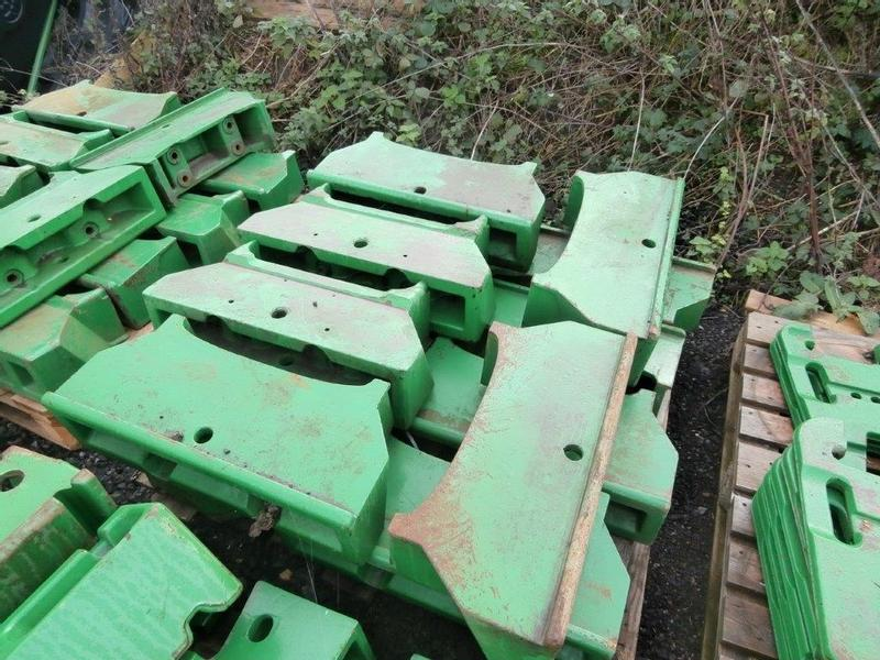 John Deere Front weight carriers