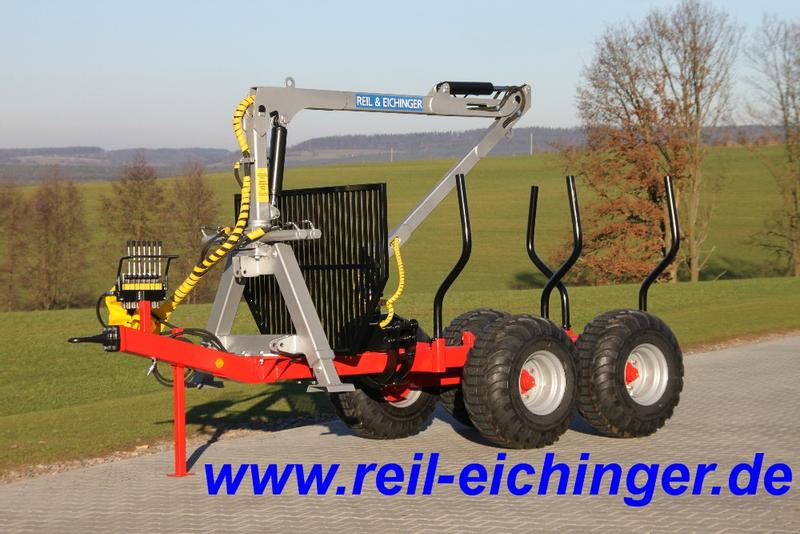 Reil & Eichinger Rückewagen RE6/4100