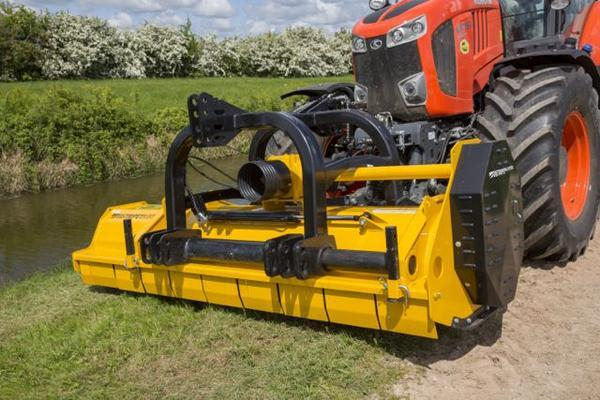 Hammer BIG CUTTER PRO HARDOX FRONT AND REAR FLAIL MOWER