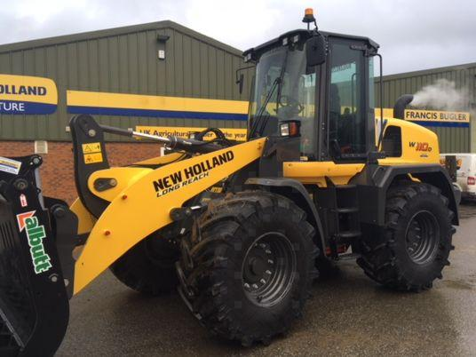 New Holland W110D
