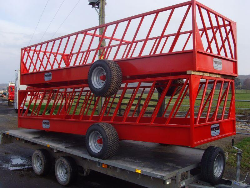 SHEEP FEED TRAILERS