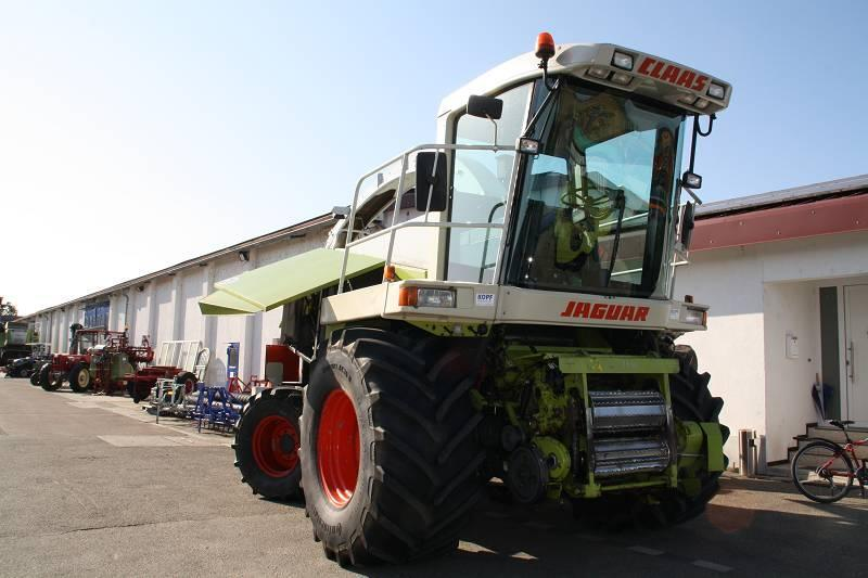 Claas Jaguar 860 ALLRAD (4-Wheel)
