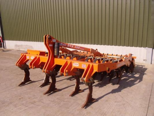 Used Simba DTX300 Cultivator
